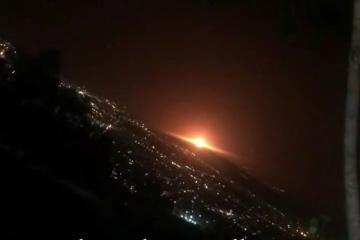 Tehranda güclü partlayış olub