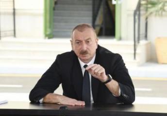 Президент Ильхам Алиев: Принцип территориальной целостности превалирует над принципом самоопределения народов