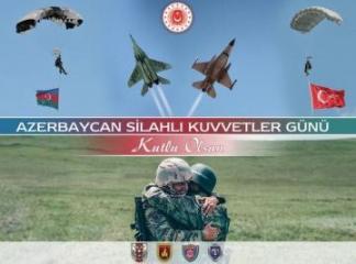 Министерство обороны Турции поздравило Азербайджан с Днем Вооруженных Сил