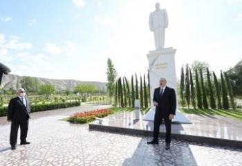 Президент: Сегодня Азербайджан добывает, производит и экспортирует нефть, газ, топливо, электроэнергию