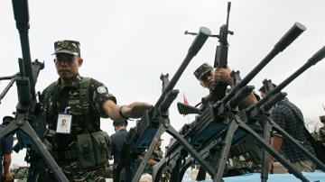 На Филиппинах полицейские застрелили четверых военных