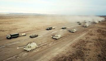 Азербайджанская армия приступила к широкомасштабным командно-штабным учениям