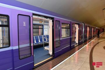 Problem appears in movement of trains in Baku metro