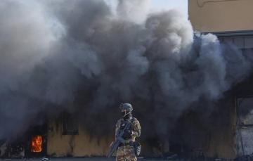 «Зеленая зона» Багдада подверглась ракетному обстрелу