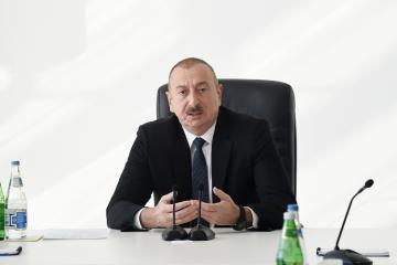 """Azərbaycan Prezidenti: """"Azərbaycanda koronavirusla bağlı vəziyyət nəzarət altındadır"""""""