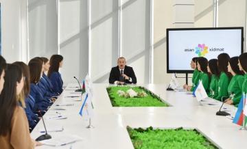 Президент Азербайджана в очередной раз показал пример чиновникам - [color=red]ВИДЕО[/color]