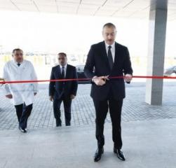 President Ilham Aliyev inaugurated Goranboy District Central Hospital - [color=red]UPDATED[/color]