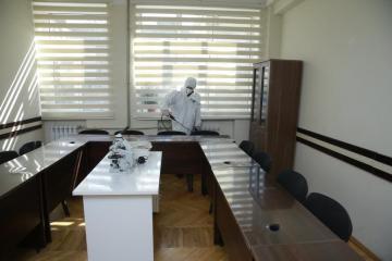 ATU-da koronavirusa qarşı təkrar dizenfeksiya işləri aparılıb