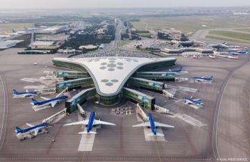 Foggy weather condition not effects work of Heydar Aliyev International Airport