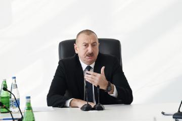 """Prezident İlham Əliyev: """"Korrupsiya və rüşvətxorluqla bağlı tədbirlər sistem xarakteri daşıyır"""""""