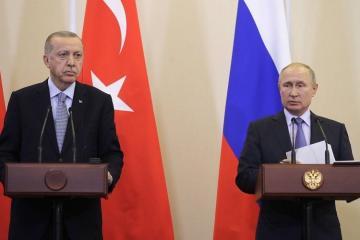 Путин: В критические моменты Россия и Турция находили точки соприкосновения
