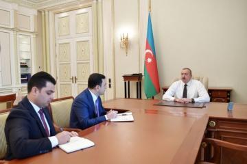 Президент Ильхам Алиев: На ответственные должности должны назначаться люди с новым мышлением