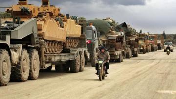 Турция направила дополнительные силы в Идлиб по согласованию с Россией