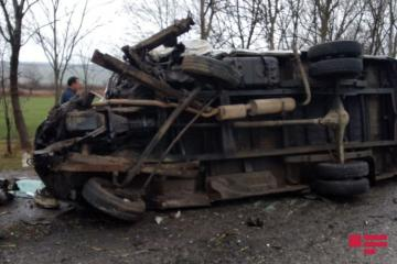 Car rollover in Azerbaijan claims 3 lives, injures 3