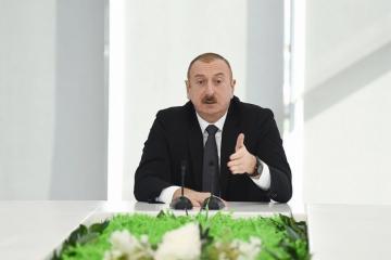 Президент Азербайджана: Меры по борьбе с коррупцией и взяточничеством носят системный характер