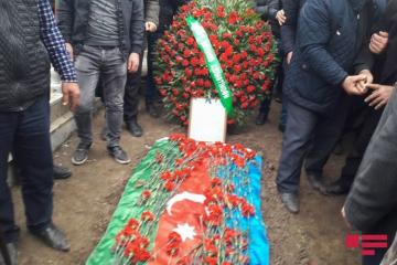 Azerbaijani serviceman martyred as a result of Armenian provocation laid to rest - [color=red]UPDATED[/color]