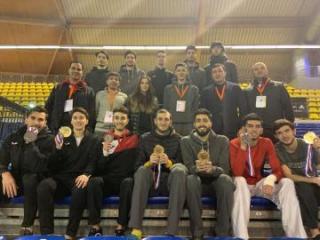 Azərbaycan taekvondoçuları Niderlandda 7 medal qazanıblar