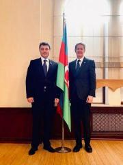 British ambassador meets with Tural Ganjaliyev
