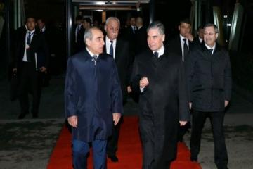 Завершился визит президента Туркменистана в Азербайджан