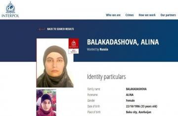 Russia searches via Interpol Azerbaijani woman joined illegal armed units