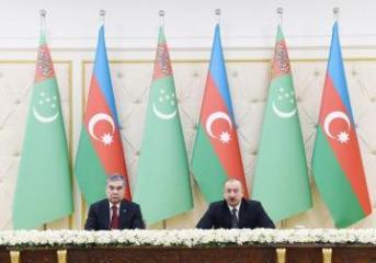 Бердымухаммедов: Азербайджан для Туркменистана является стратегическим партнером в регионе