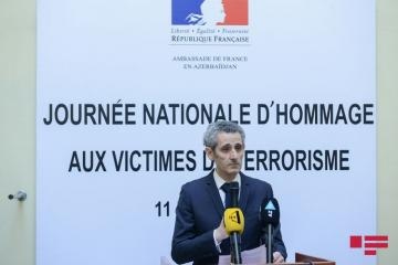 Commemoration ceremony for March 11 terrorism victims held in French Embassy - [color=red]PHOTO[/color]