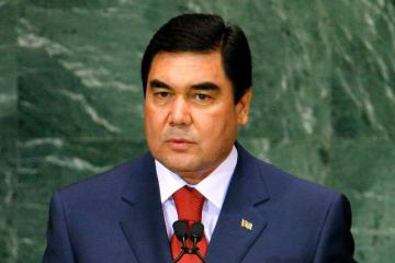 Official welcome ceremony was held for President of Turkmenistan Gurbanguly Berdimuhamedow