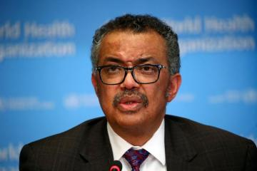 WHO's Tedros urges world to 'double down' against virus pandemic