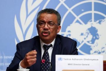 Гендиректор ВОЗ назвал Европу эпицентром пандемии коронавируса в мире