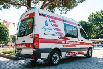 В Турции 40 человек пострадали в результате ДТП с автобусом