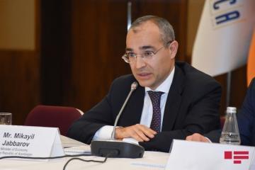 Микаил Джаббаров: В Азербайджане нет проблем с удовлетворением спроса населения на товары повседневного потребления - [color=red]ВИДЕО[/color]