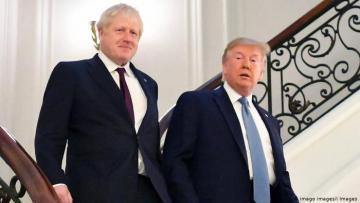 Джонсон и Трамп обсудили ситуацию с коронавирусом и атаку на базу Эт-Таджи в Ираке