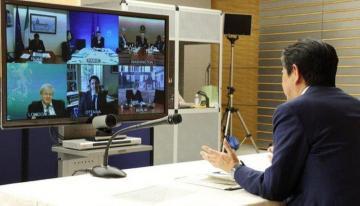 G7 holds emergency video summit on coronavirus