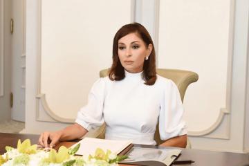 Mehriban Əliyeva koronavirusla bağlı Azərbaycan xalqına müraciət edib