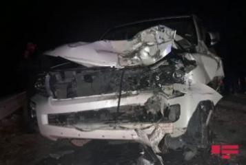 В Газахе спасены 3 человека, оказавшиеся зажатыми в автомобиле в результате ДТП – [color=red]ФОТО[/color]