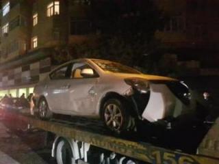 7 avtomobilin əzilməsinə səbəb olan sürücü hadisə yerindən qaçıb - [color=red]FOTO[/color]