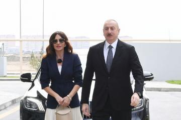 Президент Ильхам Алиев принял участие в открытии Говсанского жилищного комплекса - [color=red]ОБНОВЛЕНО[/color]