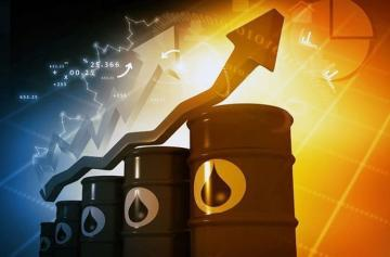 Oil price increases on world markets