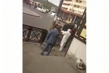МВД внесло ясность в кадры, распространившиеся в соцсетях в связи с умершим на улице человеком