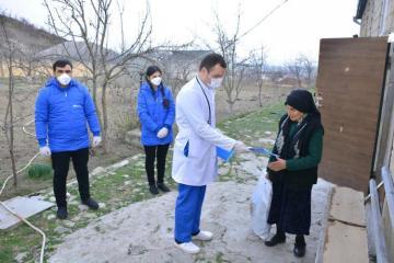 Heydər Əliyev Fondu tənha yaşayan yaşlı insanlara yardım edib - [color=red]FOTO[/color]