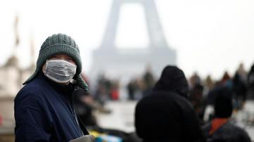 Fransada koronavirus qurbanlarının sayı 1100 nəfər olub