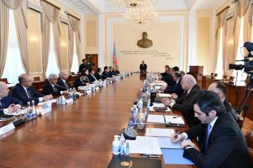 Task Force under Cabinet of Ministers of Azerbaijan discussed situation with the special quarantine regime