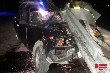 В ДТП в Геранбое пострадали 2 человека – [color=red]ФОТО[/color]