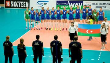 Members of Azerbaijan's national volleyball team quarantined