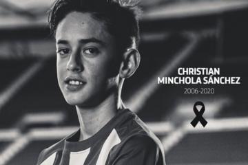 Умер 14-летний футболист мадридского «Атлетико»