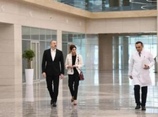 "President Ilham Aliyev attended opening of ""Yeni klinika"" medical institution in Baku - [color=red]UPDATED[/color]"