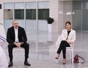 Президент: Азербайджанские предприниматели и азербайджанское общество в этой ситуации ведут себя очень достойно
