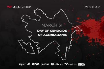 102 years pass since genocide committed by Armenians against Azerbaijanis