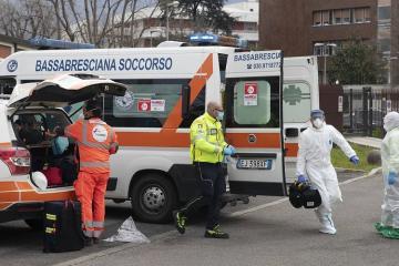 İtaliyada COVID-19 infeksiyasından ölənlərin sayı 12 mini keçib