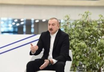 "Azerbaijani President: ""The slogan ""We are strong together!"" will remain relevant after the end of the disease"""